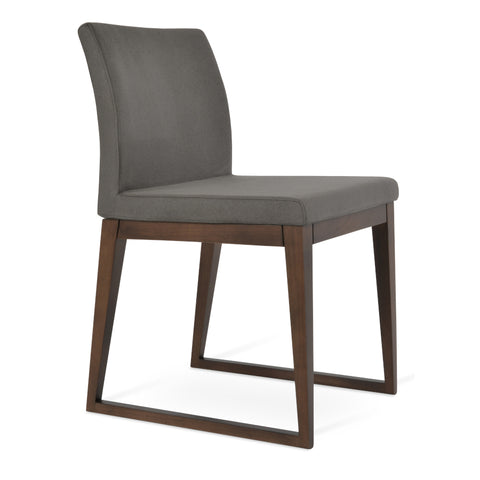 Aria Sled Wood Chair