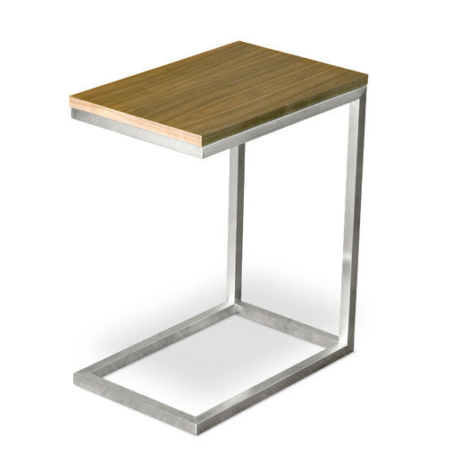 Buy Minimal Functional Walnut Top Side Table | 212Concept