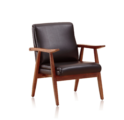Shop For Mid Century Modern Wooden Frame Arch Duke Lounge Chair | 212Concept
