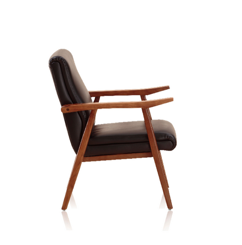 modern wood chair. Shop For Mid-Century Modern Wooden Frame Arch Duke Lounge Chair | 212Concept Wood