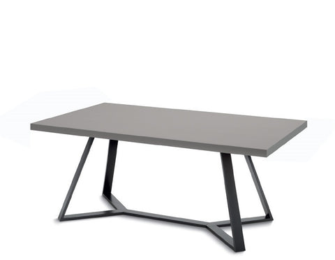 Buy Rectangular Bent Leg Lacquered Top Table | 212Concept