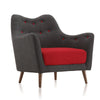 Buy Contrast Color Upholstery Wide B52 Lounge Chair | 212Concept