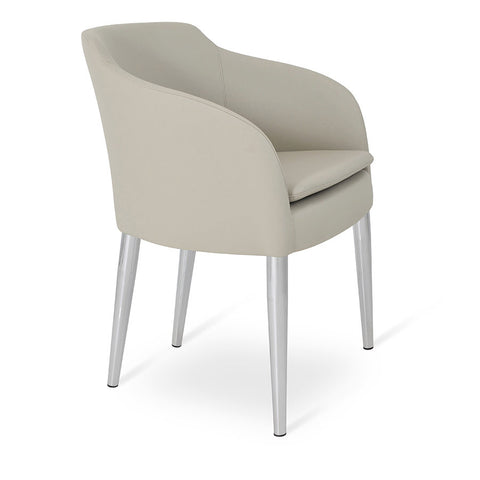Buy Contemporary Hotel Dining Armchair With Metal Legs | 212Concept