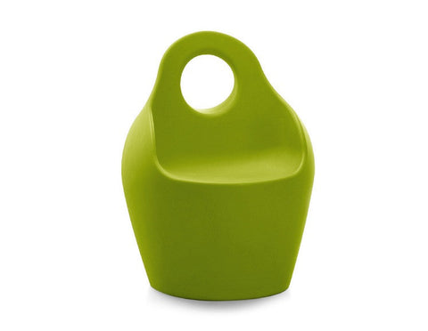 Baba Outdoor Armchair in Solid Green