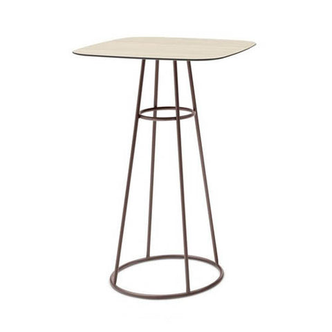 Buy Round Wooden Barrique Bar Table with Oak Top Option | 212Concept