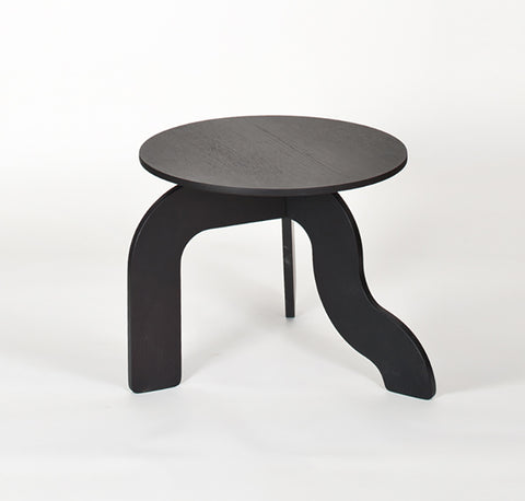 Shop For Curvy Legged Wooden Small Side Table | 212Concept