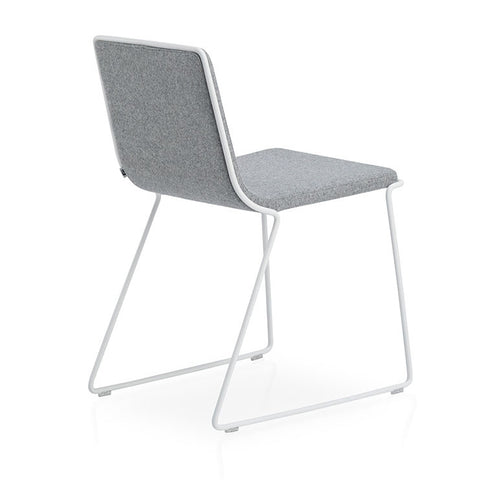Buy Slender Minimal Upholstered Bleecker Stacking Chair | 212Concept