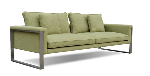 Boston Sofa Camira Wool Green