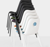 Buy Light Upholstered Stackable Accented Chair | 212Concept