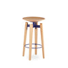 Buy Industrial Design Wooden Swivel Seat Bow Stool | 212Concept