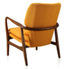 Buy Solid Walnut Finished Ashwood Frame Bradley Lounge Chair | 212Concept