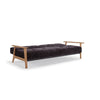 Buy Sleeper Sofa with Wood Arms and Button Tufted Upholstery | 212Concept