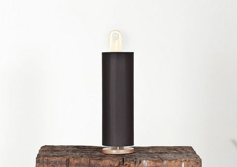 Buy Cylinder Shaped Plywood Table Light | 212Concept