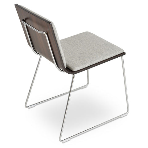 Sled Base Chairs Wire Mesh Chair 212concept