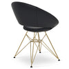 Buy Crescent Tower Chair With Gold Legs | 212Concept