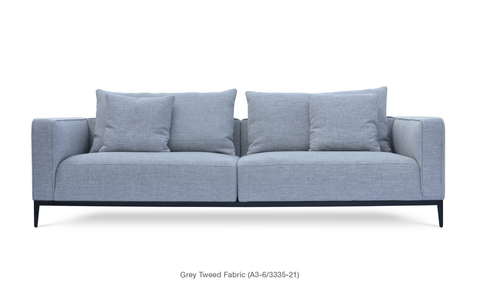 Buy Modern Deep Three Seater California Sofa | 212Concept