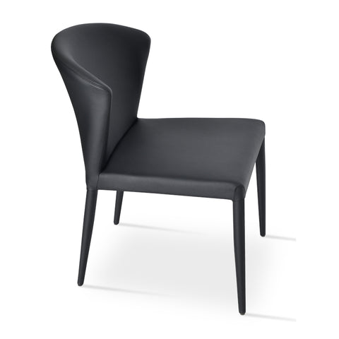 Capri Fully Upholstered Stackable Chair
