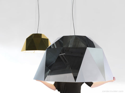 Modern modular optimal Metallic Light by Sander Mulder | 212Concept