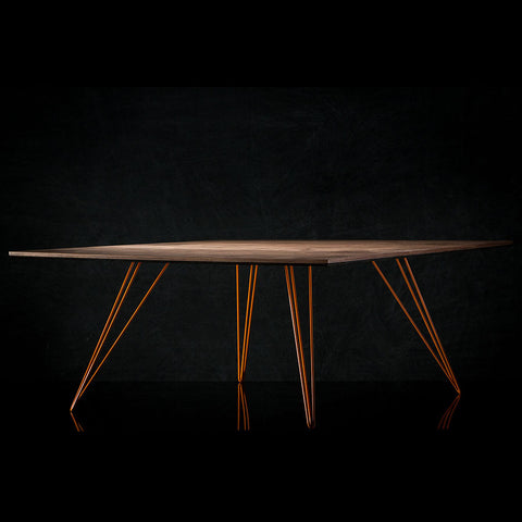 Buy Steel Legged Square Williams Dining Table | 212Concept