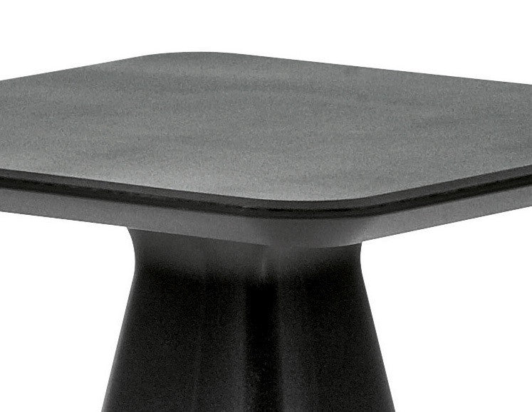 Buy Black Rectangular Eco-Friendly Recycled Outdoor Table | 212Concept