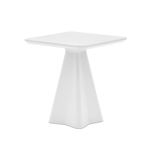 Buy White Rectangular Eco-Friendly Recycled Outdoor Table | 212Concept