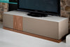 Buy Modern Taupe Italian TV Console Unit | 212Concept