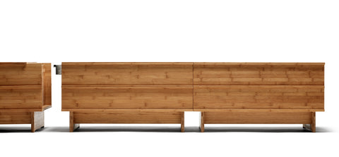 Buy Scandinavian Wooden Bench with Storage Units | 212Concept
