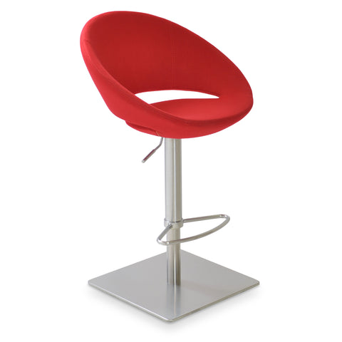 Crescent Piston Stool