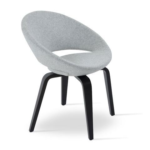 Crescent Plywood Chair