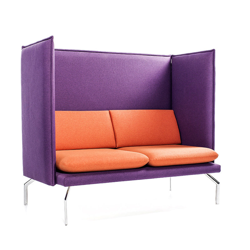 Buy Slender Cube Design 2-seater Sofa with Plush Cushions | 212Concept