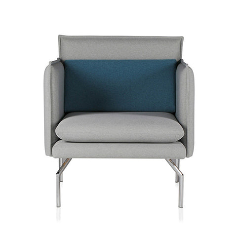 Buy Cube Shaped High Arm Commercial Lobby One-Seater Chair | 212Concept