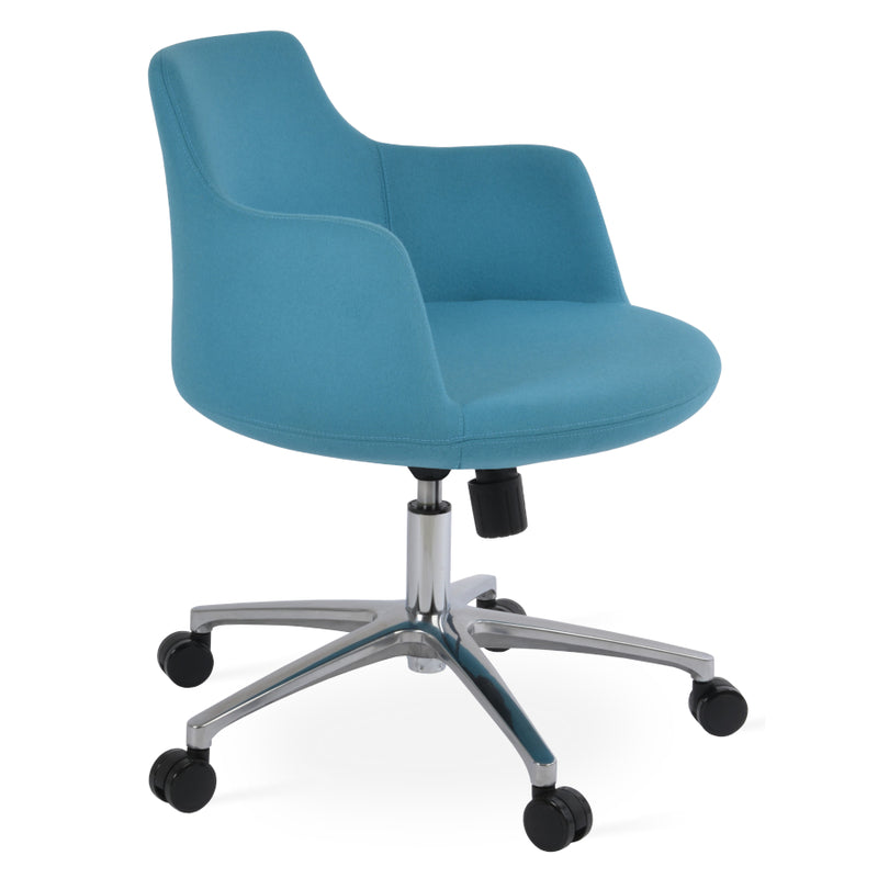 Shop For Round Shell Upholstered Dervish Office Chair 212concept