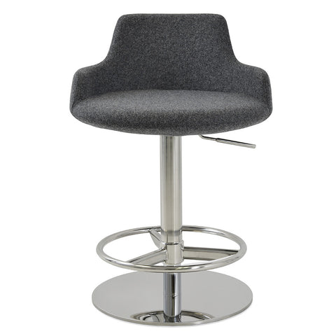 Buy Ample Round Seat Adjustable Height Stool | 212Concept