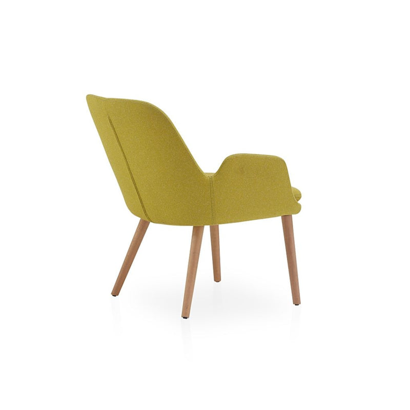 Buy Modern Dowel Wood Legged Daisy Lounge Chair | 212Concept