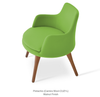 Buy Round Wide Wood Legged Lounge Chair | 212Concept