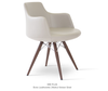 Buy Modern Dowel Base Swivel Dervish Armchair | 212Concept