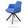 Buy Round Sword Legged Wool Upholstered Modern Armchair | 212Concept