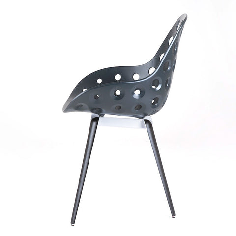 Modern Slice Dimple Armchair Side View | 212Concept