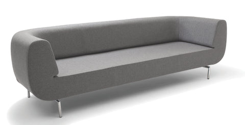 Durgu Modern Two seater sofa in light grey | 212Concept