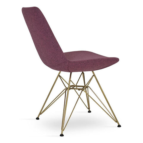 Buy Eiffel Tower modern dining chair with gold legs | 212Concept