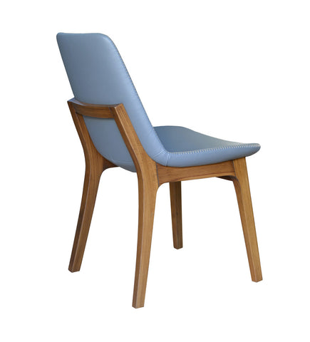contemporary wood chairs. Eiffel Wood Chair Blue Contemporary Wood Chairs R