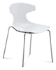 Stacking Outdoor Echo Chair in White Color by Domitalia