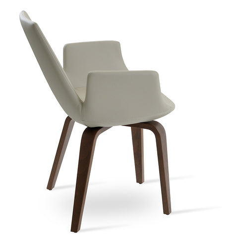 Buy Mid-Century Modern Eiffel Arm Plywood Chair | 212Concept
