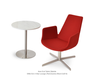 Shop For Eiffel 4-Star Swivel Lounge Armchair | 212Concept