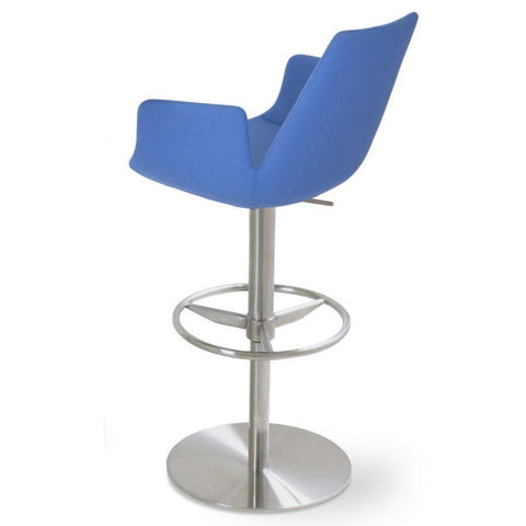 Buy Adjustable Height Eiffel Arm Disc Base Stool | 212Concept