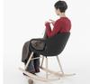 Buy Modern Wood Base Elephant Rocking Armchair | 212Concept