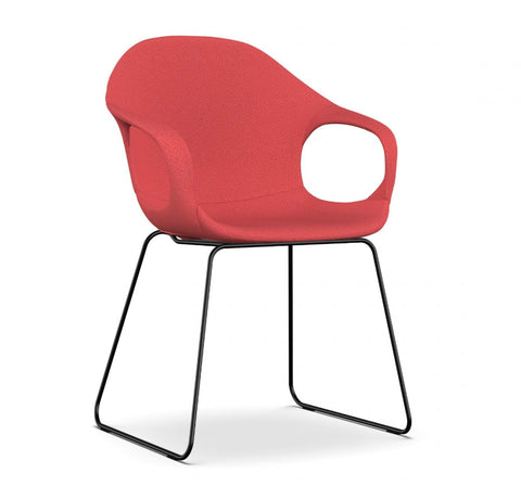 Buy Solid Steel Slide Legged Modern Italian Armchair | 212Concept