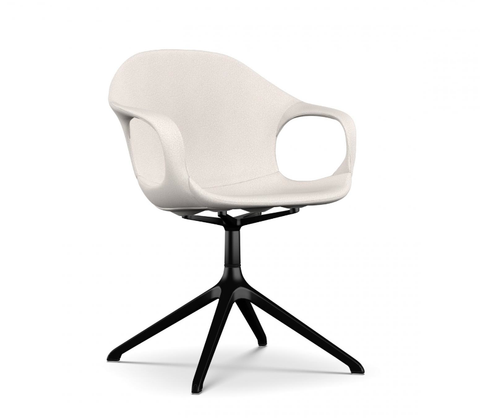 Buy Curvy Trestle Swivel Base Modern Classic Armchair | 212Concept
