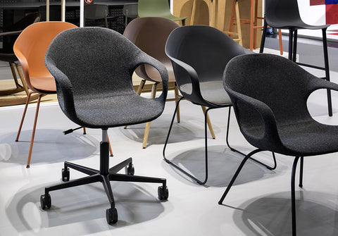 Buy Modern Curvy Kristalia Elephant Chair with Castors | 212Concept
