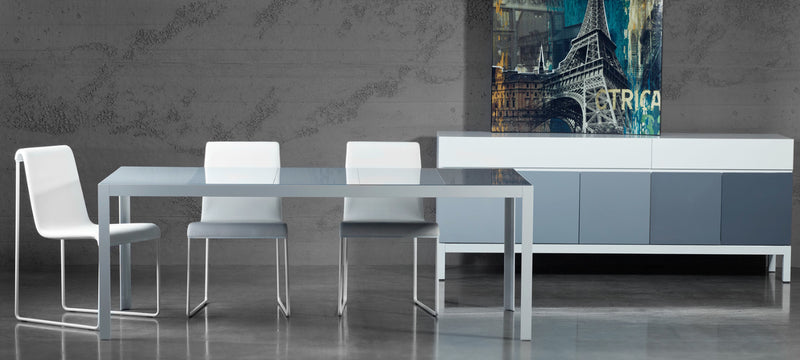 Shop For Contemporary Elusive White Dining Table | 212Concept
